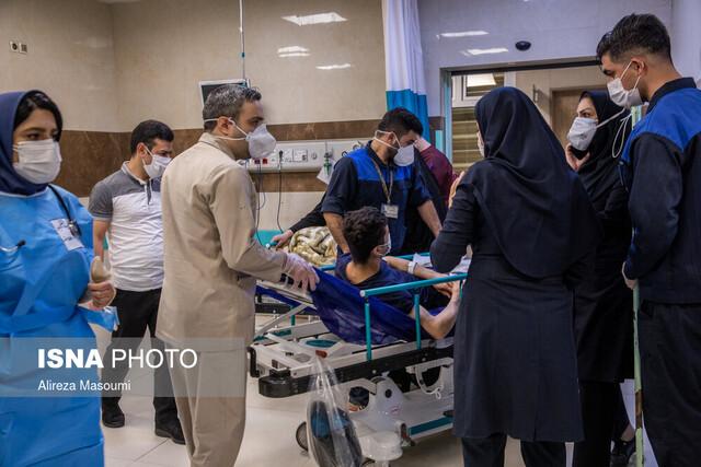وضعیت بیمارستانهای خوزستان همچنان قرمز است