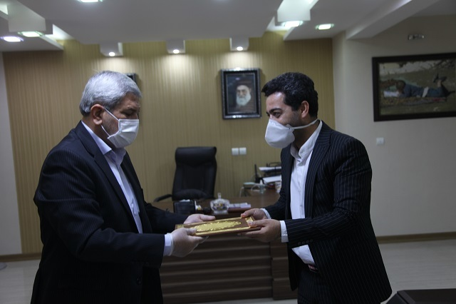 تقدیر مدیر کل آموزش و پرورش استان خوزستان از مدیرکل روابط عمومی و اموربین الملل استانداری خوزستان