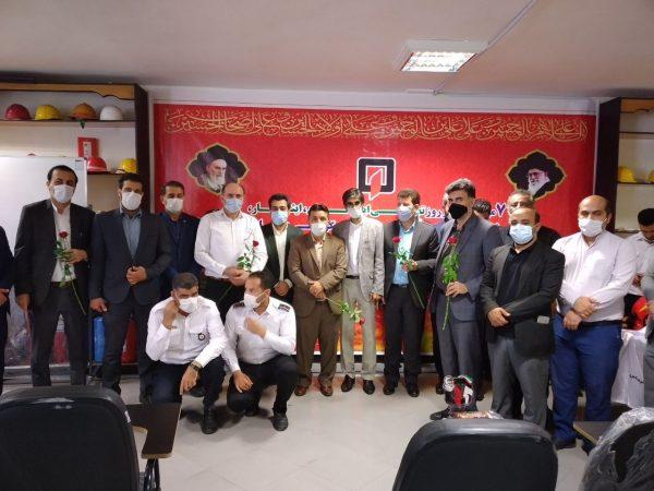 گزارش تصویری/ آئین قدردانی از آتش نشانان با حضور رئیس شورای هماهنگی روابط عمومی دستگاه های اجرایی