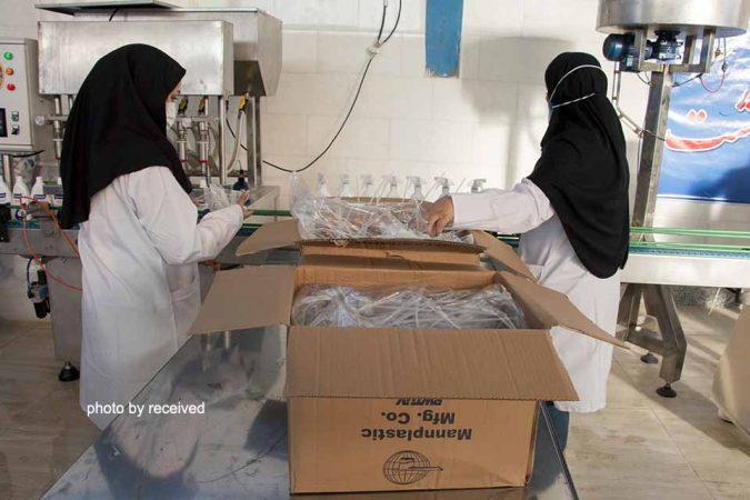 کارخانه تولید محلول ضدعفونیکننده دست در اهواز افتتاح شد/ کروناویروس در خوزستان تحت کنترل است
