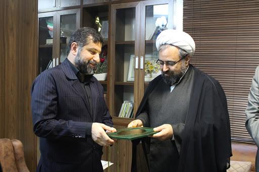 دیدار رئیس شورای هماهنگی تبلیغات اسلامی خوزستان با استاندار خوزستان